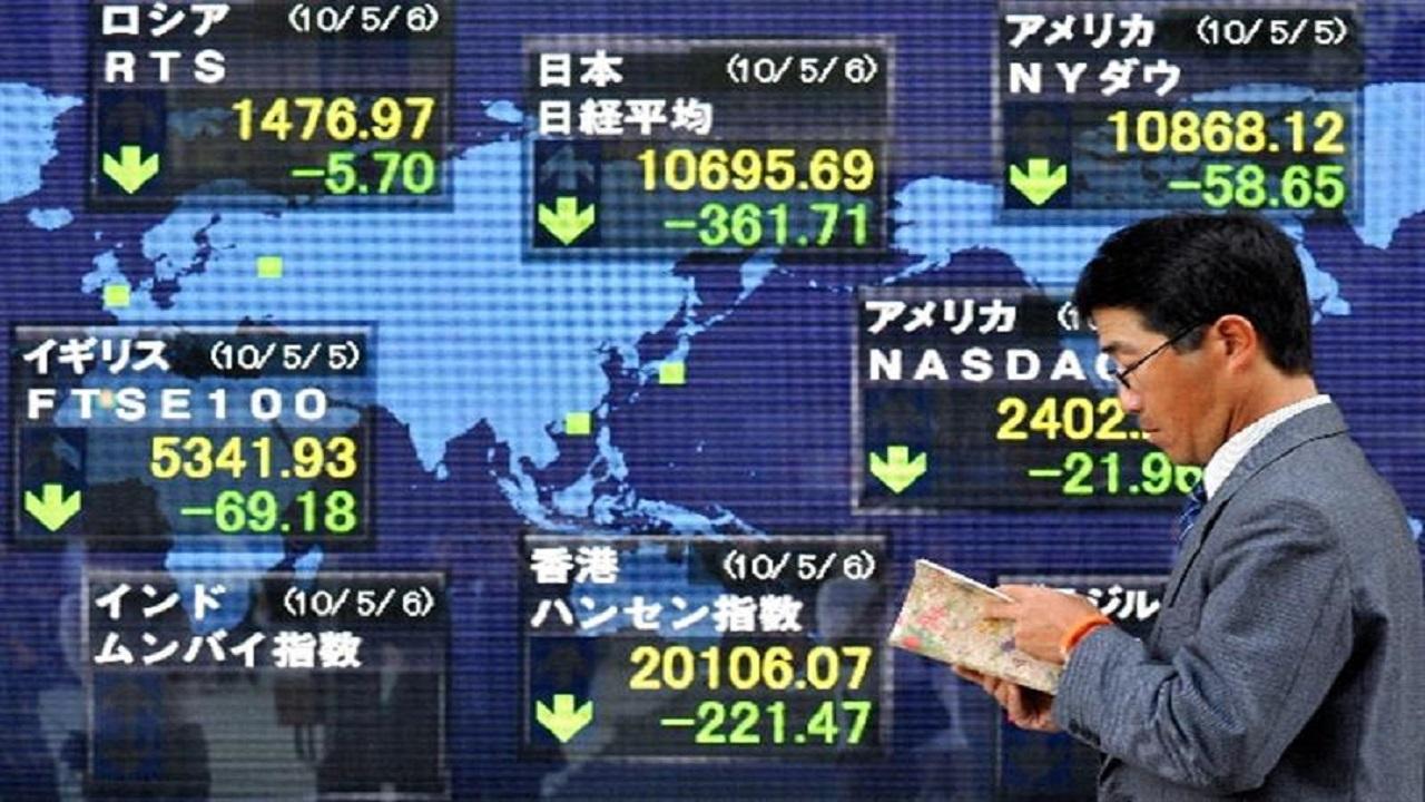 الأسهم اليابانية تخسر أكثر من 7% مع نهاية الجلسة الصباحية