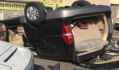 إصابة عدة أشخاص في حادث مروري بجدة