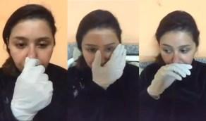 بالفيديو.. نجمة « أراب آيدول » تعلن إصابتها
