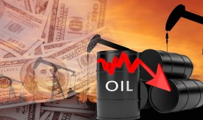 سعر نفط خام القياس العالمي ينخفض بنسبة 5.70%