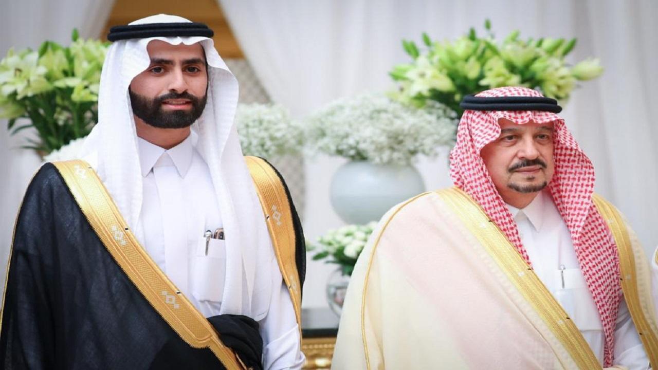بالصور.. المستشار بالديوان الملكي عبدالله القرني يحتفل بزواج ابنه بالرياض