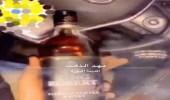 مواطن يستعرض بزجاجة مسكر في المدينة المنورة