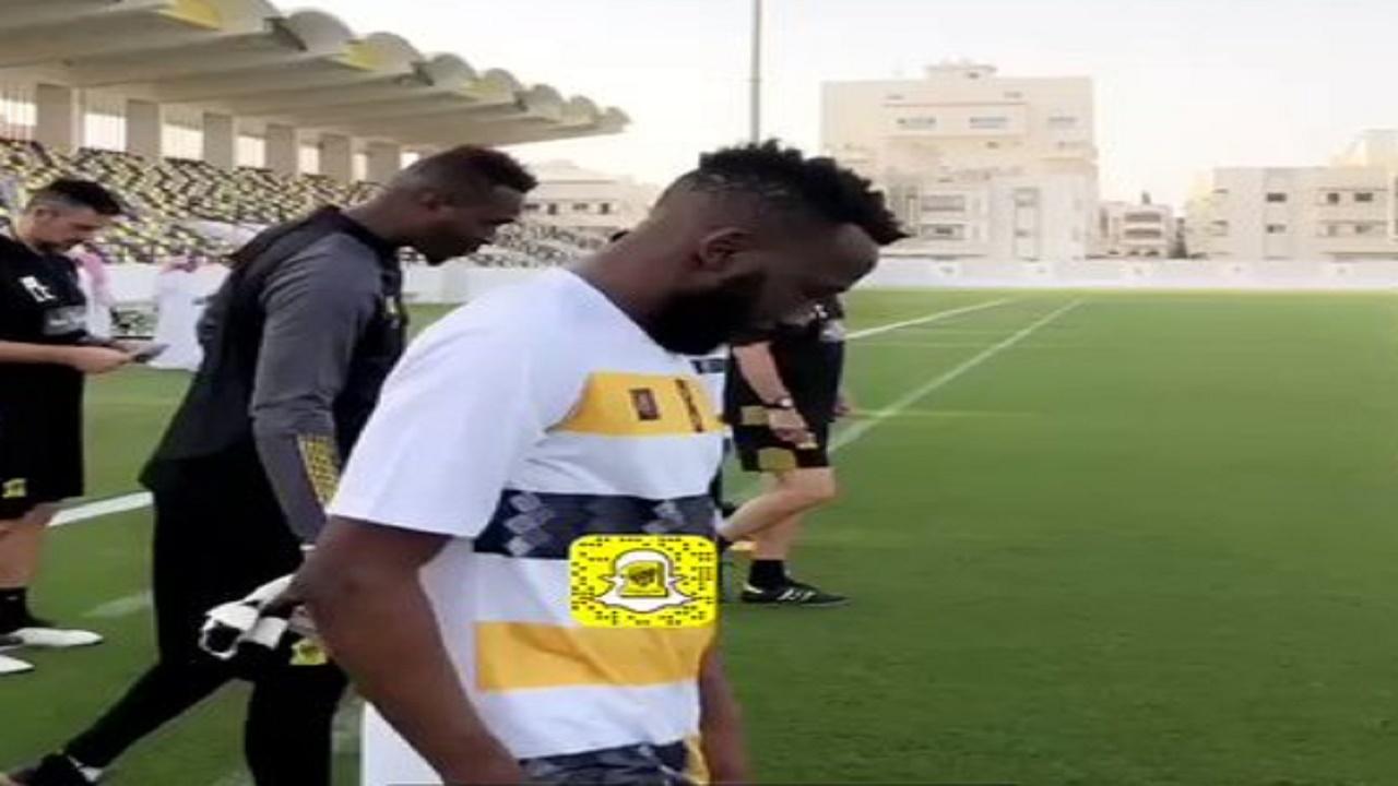 فهد المولد يعود لتدريبات الاتحاد قبل مواجهة الوحدة (فيديو)