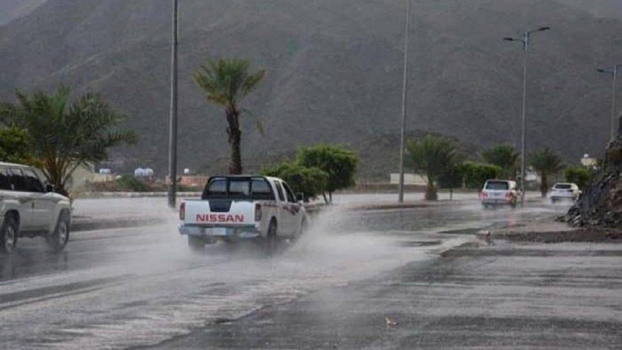تحذير من هطول أمطار على الجموم