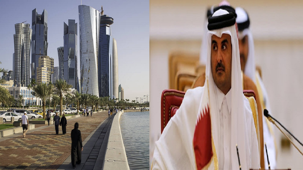 النظام القطري يواصل استفزاز شعبه ويمنع الماء عن المحجورين صحيًا (فيديو)