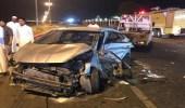 """إصابات في حادث مروري على طريق """" مكة - جدة السريع """""""