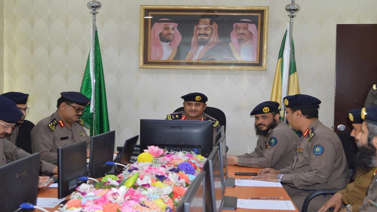 بالصور.. مدير الدفاع المدني بمكة يزور فرع الإدارة في الجموم