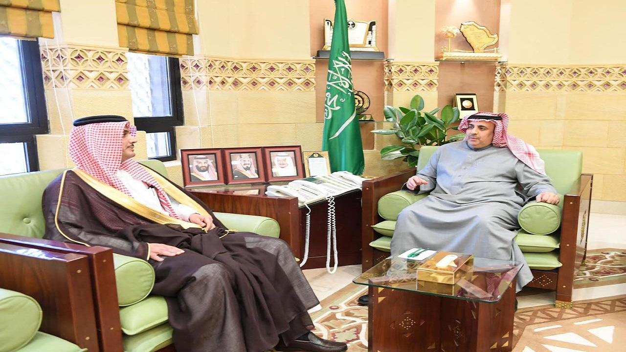 وكيل إمارة الرياض يستقبل مدير التحريات الإدارية بالمنطقة المعين حديثًا