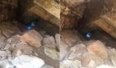 بالفيديو.. العثور على وادي تحت تلال حي النرجس بالرياض أثناء حفر خزان للمياه
