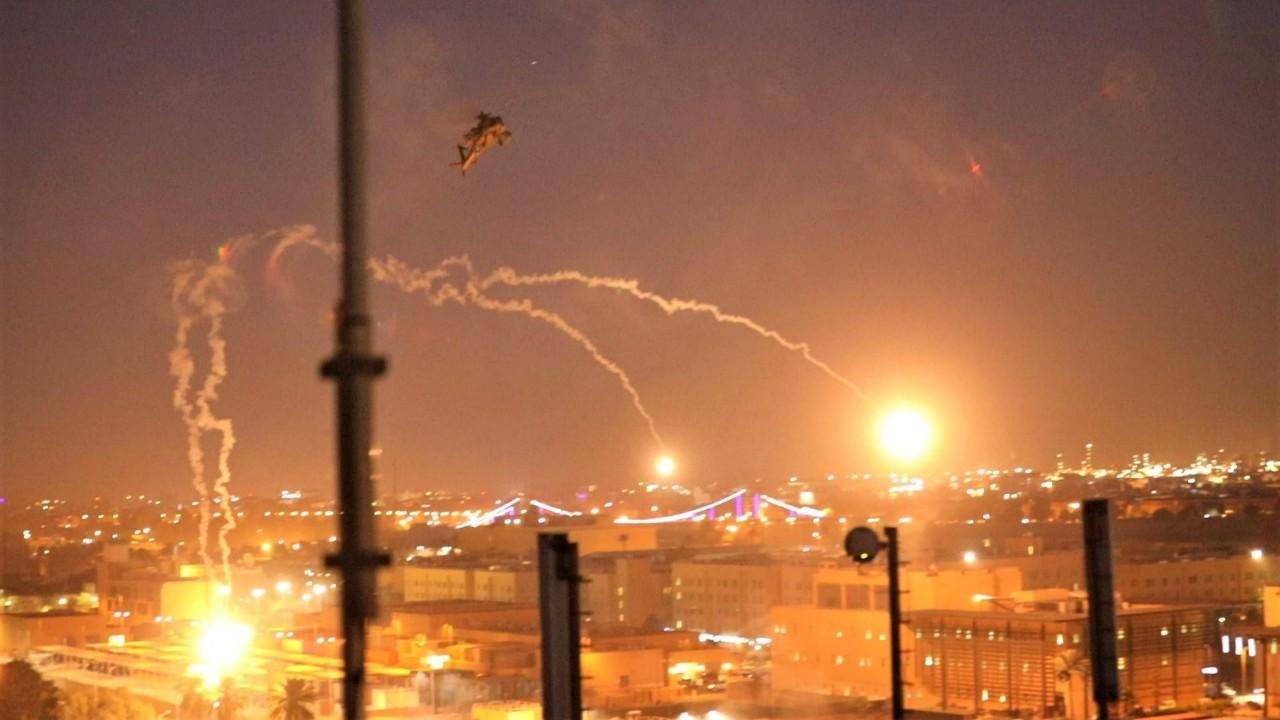 سقوط صاروخ في محيط المنطقة الخضراء في بغداد