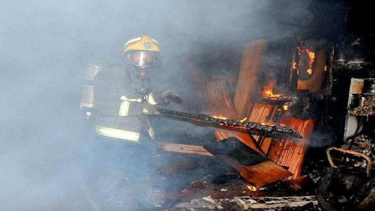 اندلاع حريق في محل قطع غيار وعدد من الورش بجدة