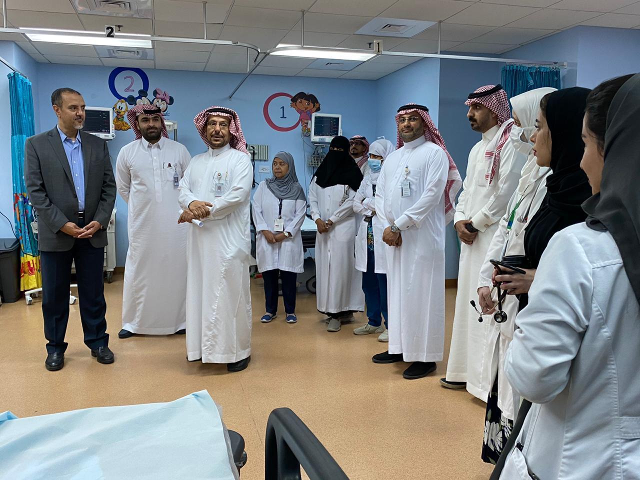 الدكتور الغامدي يتفقد منشآت التجمع الصحي الأول في الشرقية