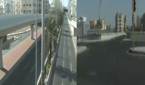 شاهد.. سكان جدة في أول أيام منع التجول المبكر