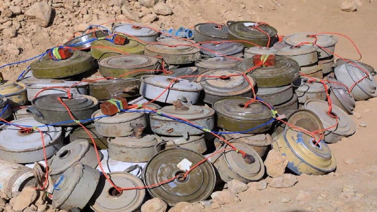 """""""مسام"""" ينتزع 2.963 لغمًا في اليمن خلال الأسبوع الأول من مارس"""