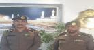 مدير شرطة العاصمة المقدسة يقلد المالكي رتبته الجديدة