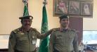 """مدير جوازات الرياض يقلد """"العباد"""" رتبته الجديدة"""