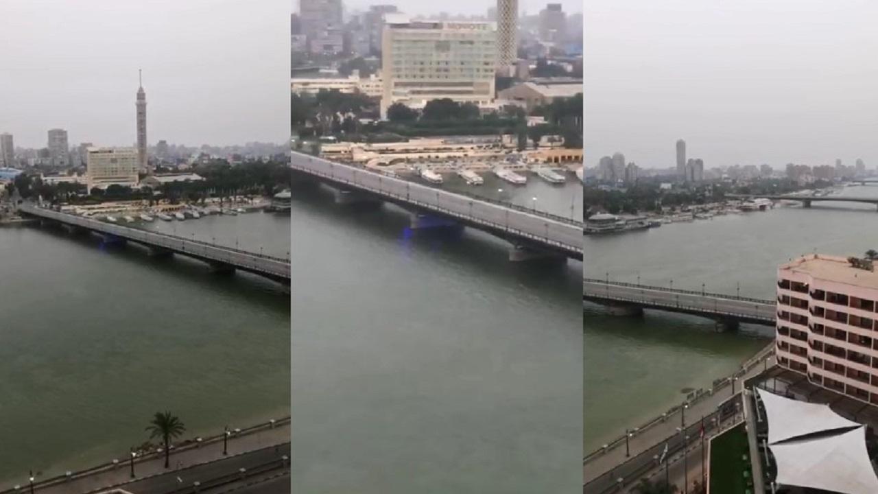 شاهد.. القاهرة خالية من المارة والسياح
