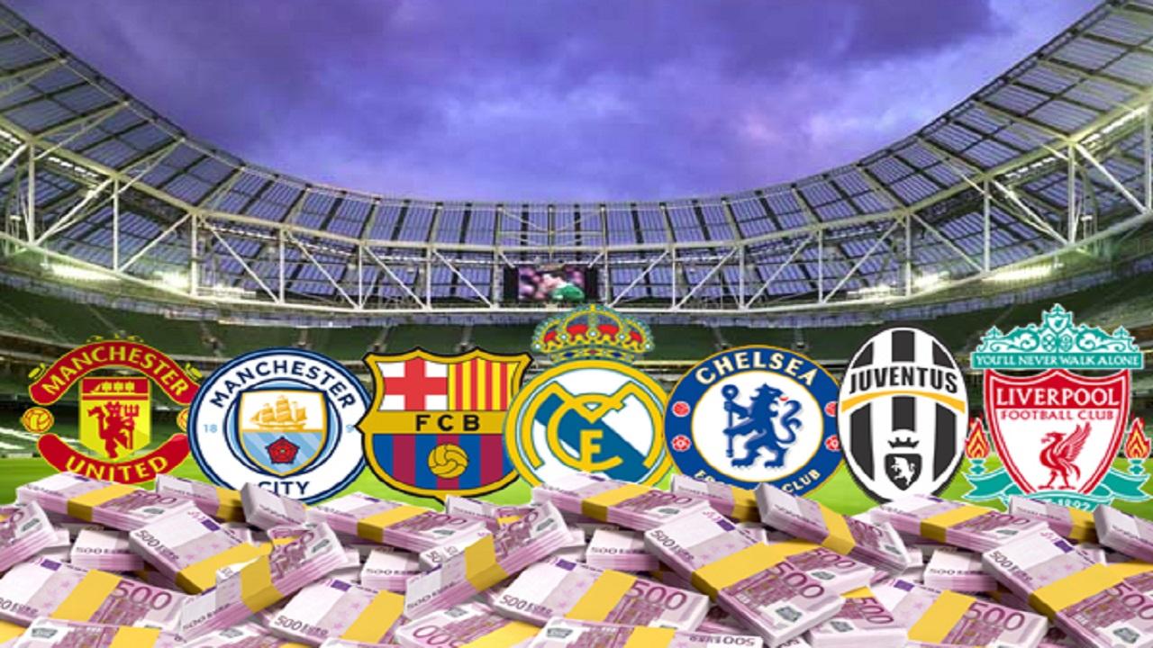قائمة الأندية الأعلى قيمة مالية في العالموريال مدريد يتصدر