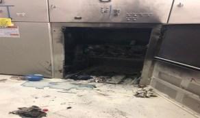 اندلاع حريق داخل غرفة تحكم تابعة لأحد المراكز التجارية بجدة