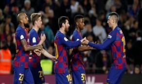 لاعبو برشلونة غاضبون من ناديهم بسبب ريال مدريد