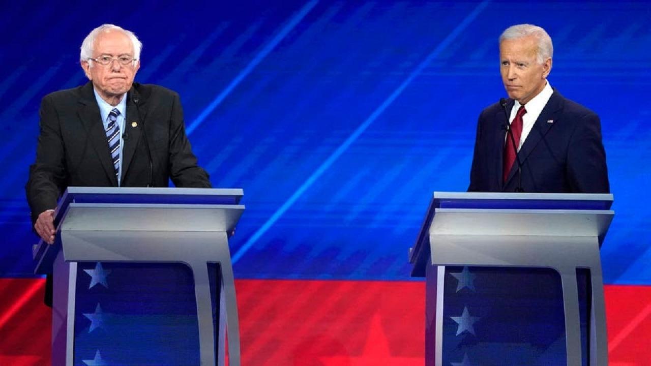 «بايدن وساندرز» يتفقان على هزيمة ترامب في الإنتخابات الأمريكية