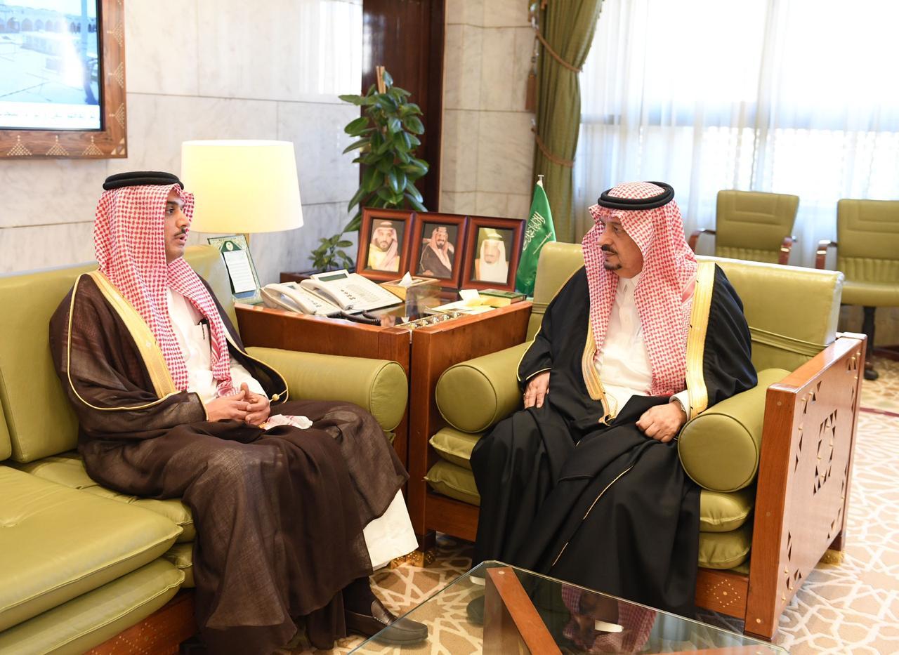 سمو أمير الرياض يستقبل مدير التحريات الإدارية بالمنطقة المعين حديثًا
