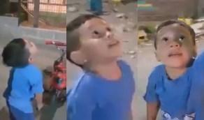 بالفيديو..مشهد مؤثر لطفل توفت أمه وأخبروه أنها تحولت لنجمة في السماء