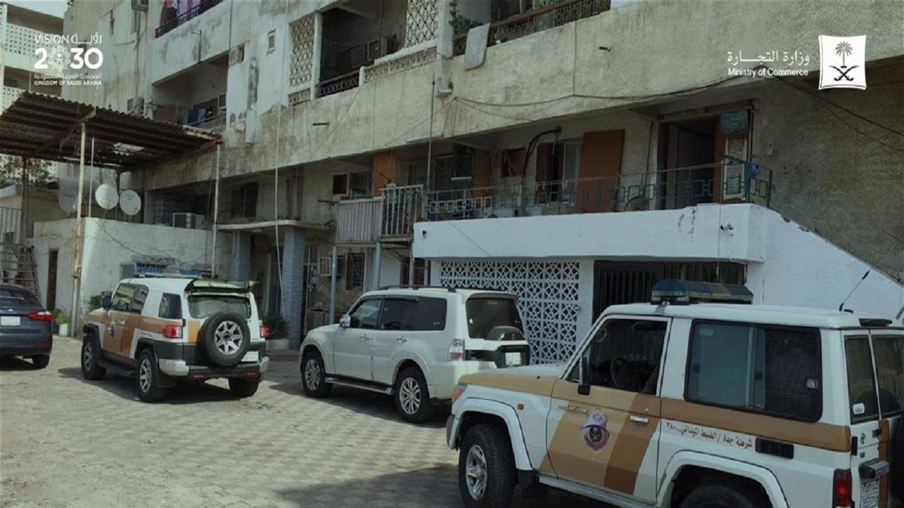 """ضبط 10 عمالة مخالفة بشبهة """" غسل أموال """" في جدة"""
