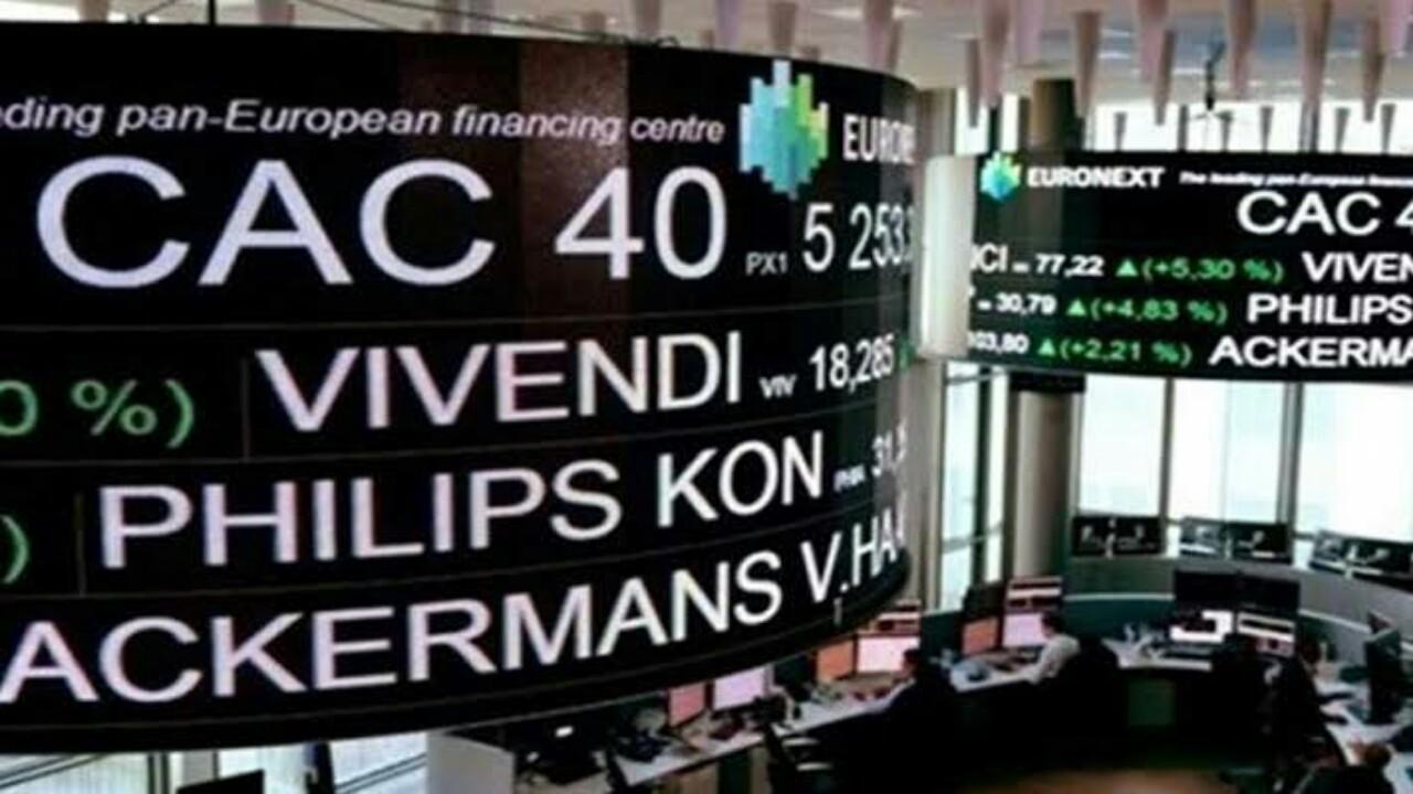 بورصة باريس تتراجع لأدنى مستوى في تاريخها بخسارتها 12,28%