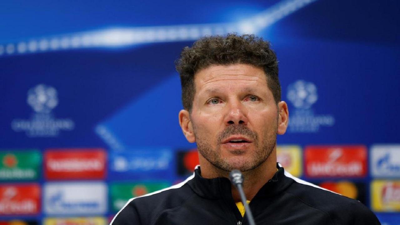 مدرب أتلتيكو مدريد: نسعى للفوز على ليفربول ومن الظلم لعبهم بدون جمهور