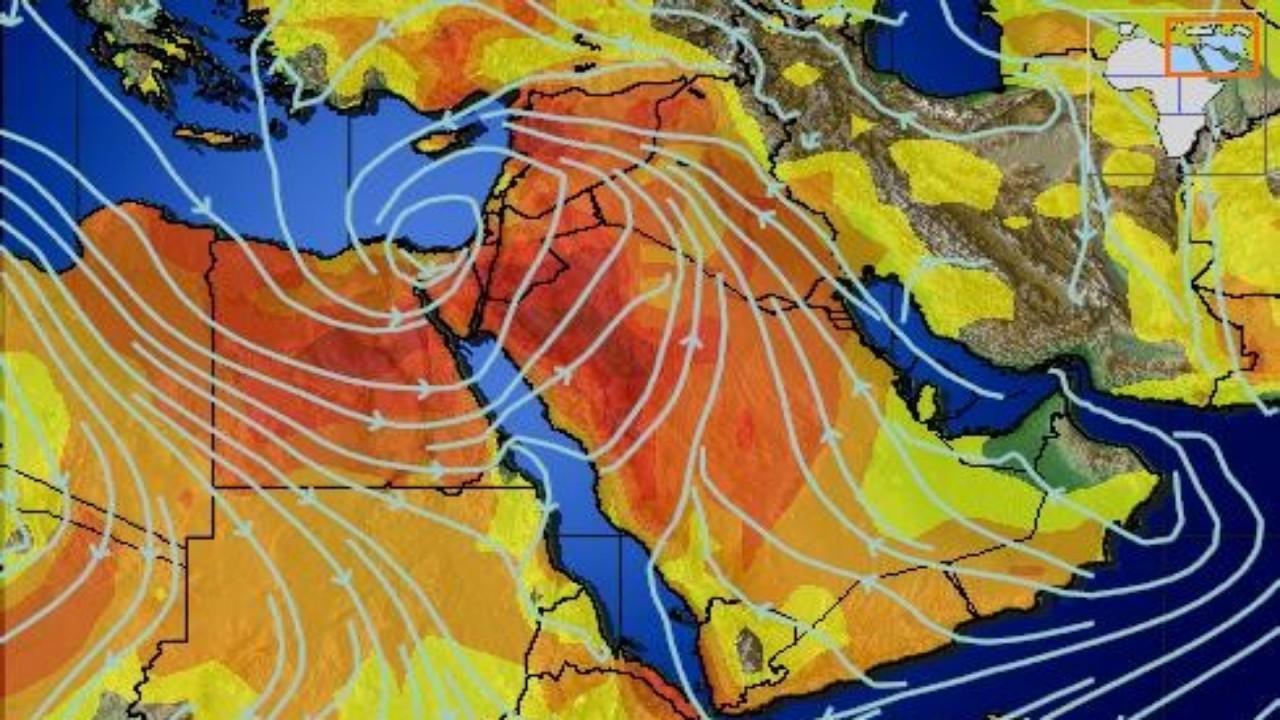 بالصور.. «المسند» : لا يزال المنخفض الجوي العنيف يضرب مصر وسيؤثر على المملكة