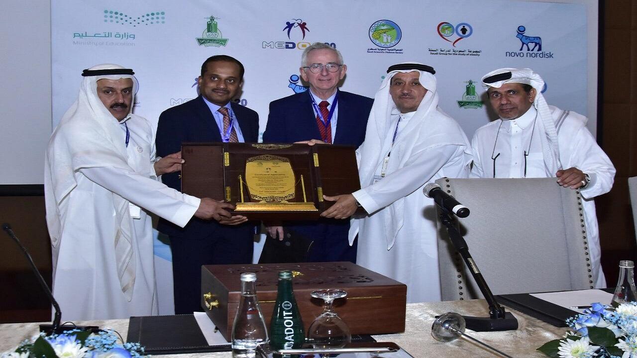مؤتمر الشرق الأوسط لمرضى السكّري والسمنة يختتم أعماله بنجاح في جدة
