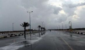 أمطار على منطقة نجران