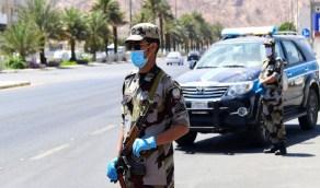 رجال الأمن رغم حرارة الجو لم يتوانوا عن مسؤوليتهم في حماية المجتمع وصحته (صور)