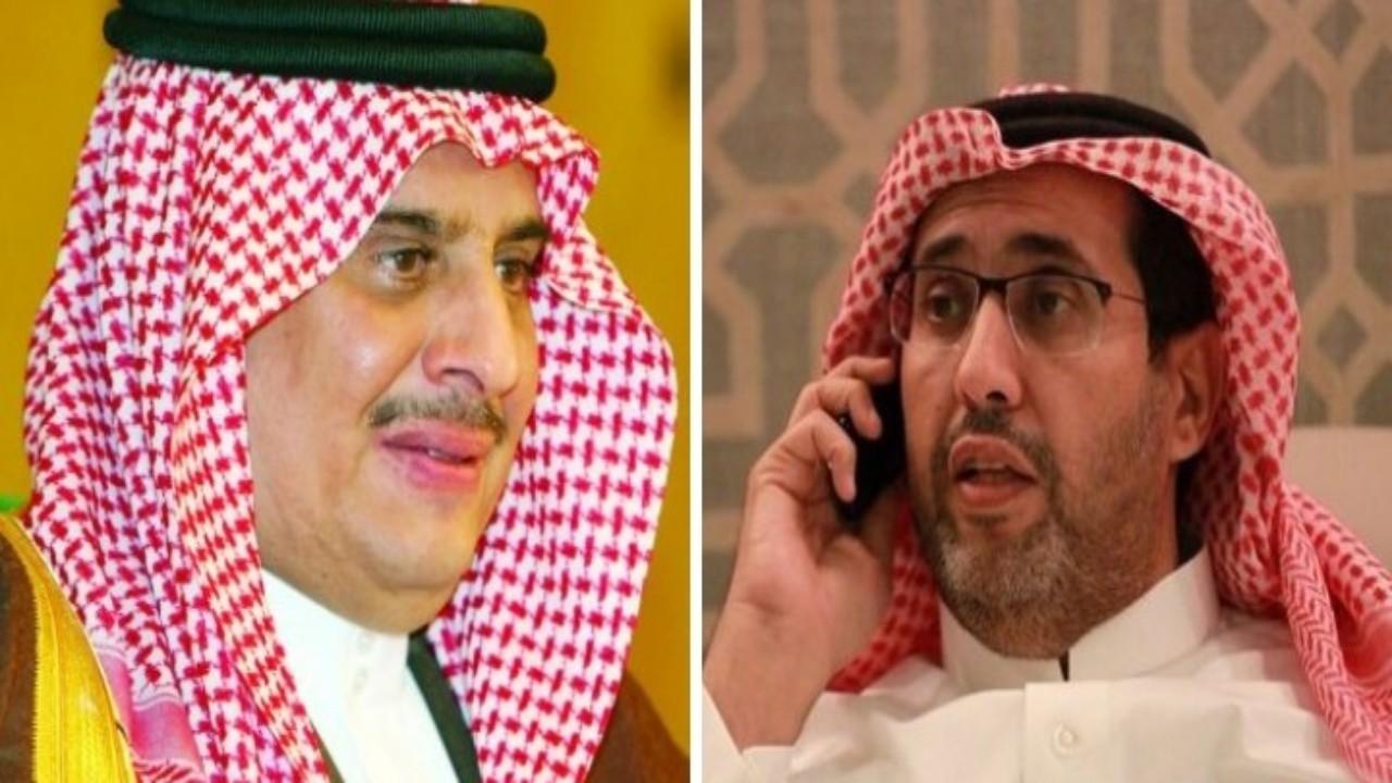 شاهد.. الأمير سلطان بن فهد يكشف التفاصيل الكاملة لإبعاد منصور البلوي بسبب كالون