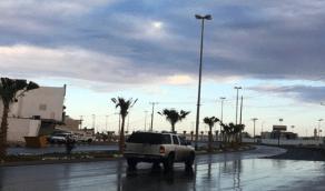 هطول أمطار رعدية على جازان والباحة