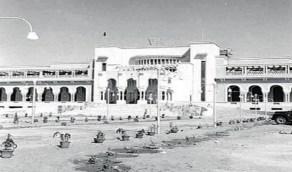 صور قديمة لقصر الملك سعود عبدالعزيز في خزام بجدة