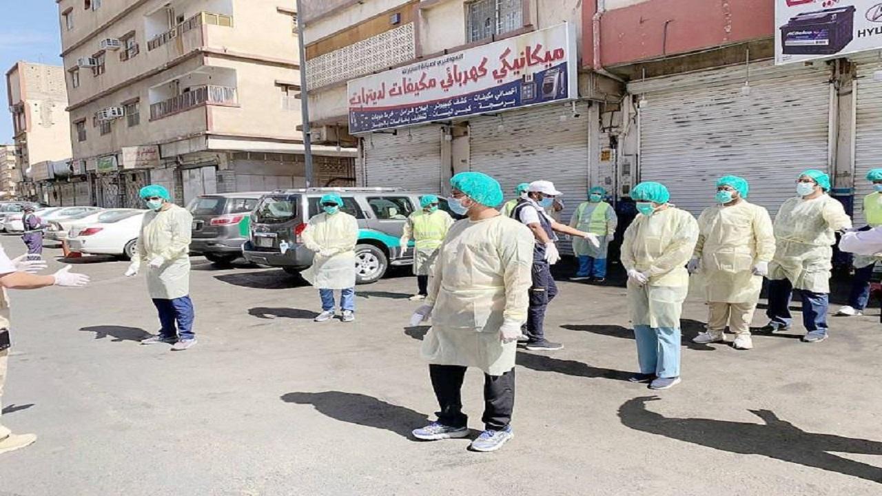 حملات صحية لفحص أهالي عدد من الأحياء بالطائف