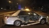 القبض على قائدي سيارتين دهسا رجلي مرور في جدة