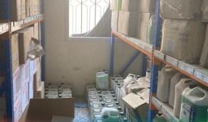 ضبط 243 ألف منتج تجميلي مخالف في منزل بالشرقية (صور)