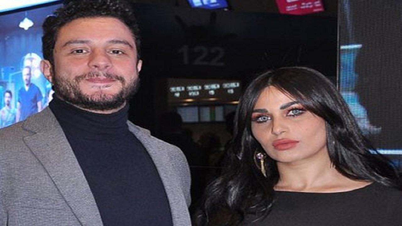 أحمد الفيشاوي يوجه رسالة لزوجته في عيد ميلادها