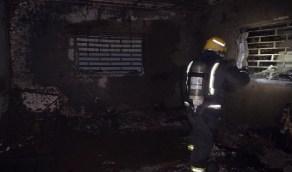 نجاة 4 أشخاص من حريق شقة سكنية بتبوك