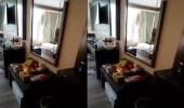 """طالب إندونيسي يبعث فيديو لأسرته من داخل السكن """"الاحترازي"""""""