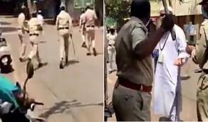 فيديو صادم للشرطة لعقاب مخالفي منع التجول