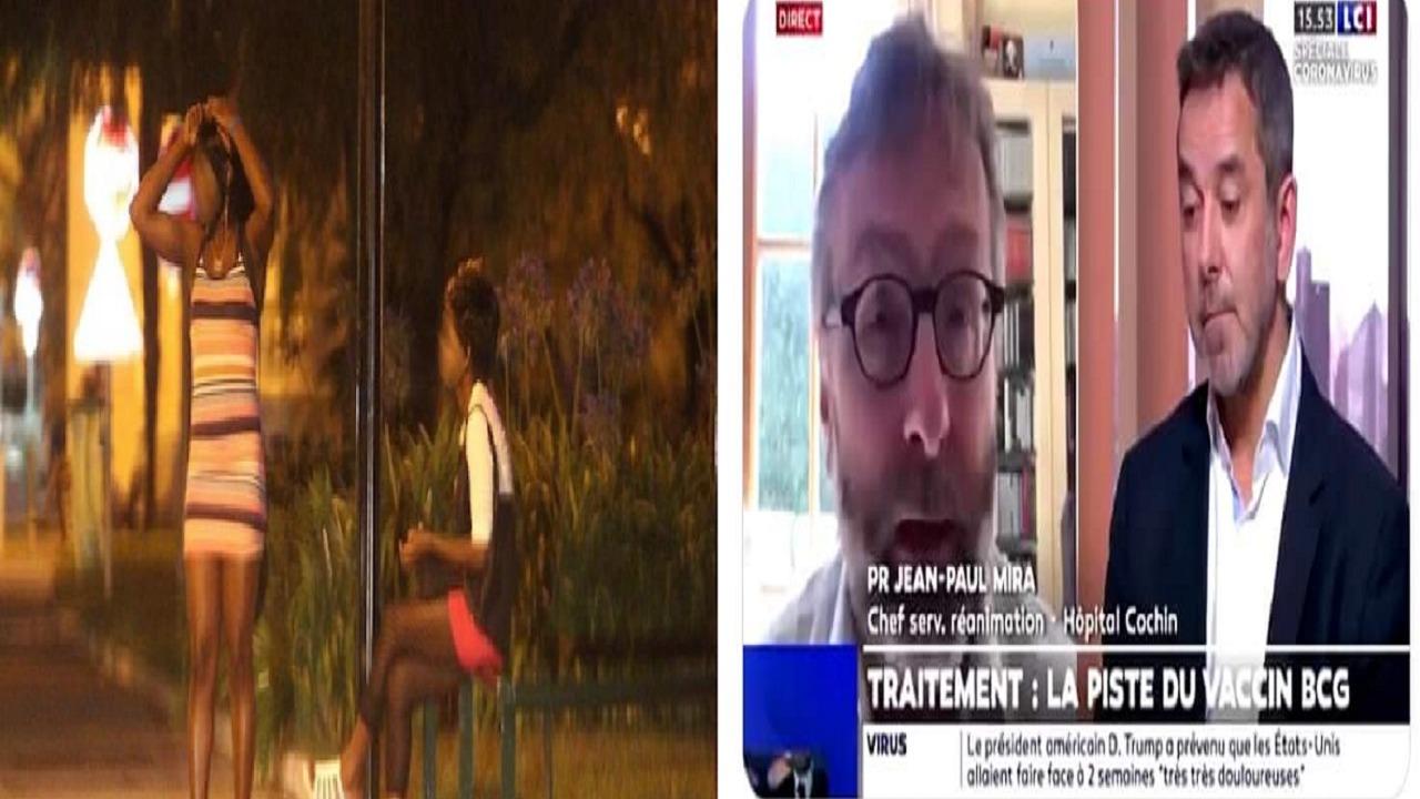 مُحاور فرنسي: قوموا ببحوث كورونا على الأفارقة كتلك التي أُجريت على بائعات جنس هناك (فيديو)