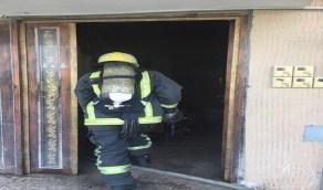 وفاة طفل وإصابة 4 أشخاص بينهم طفلين في حريق بالدمام
