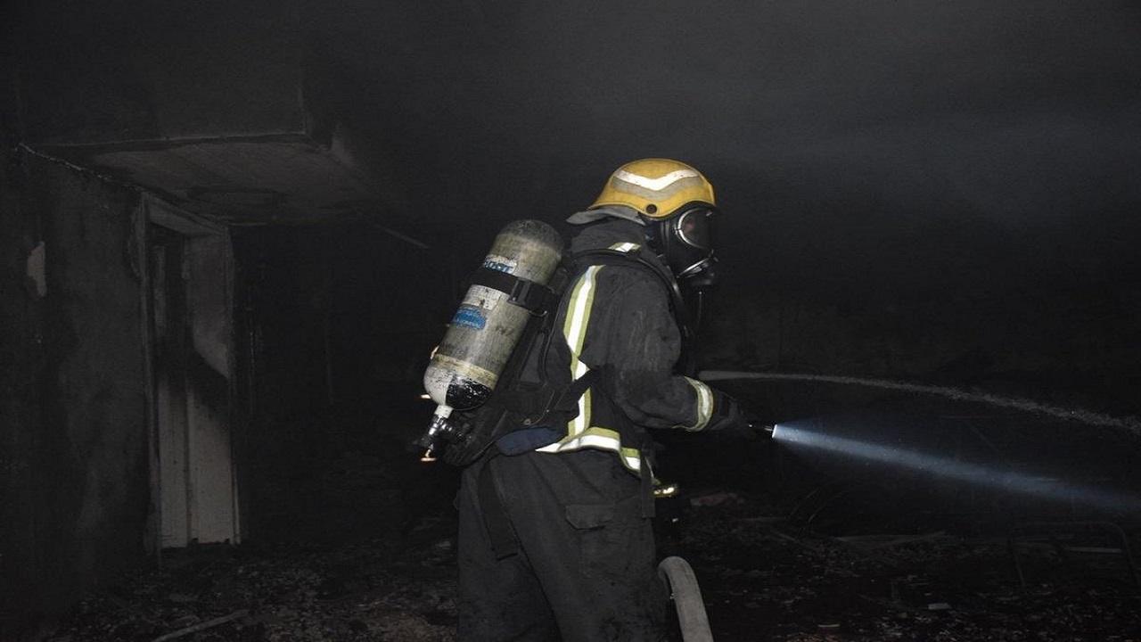 إصابة 3 أشخاص في حريق منزل بالرياض