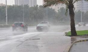 استمرار الأمطار الغزيرة على المنطقة الشرقية