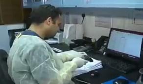 شاهد.. جهاز يفحص 1000 عينة من الفيروس يوميا بمختبر في صحة الشرقية