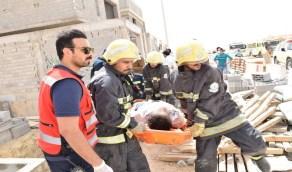 بالصور.. إصابة 5 أشخاص ووفاة واحدة في حادث انهيار فيلا القيروان